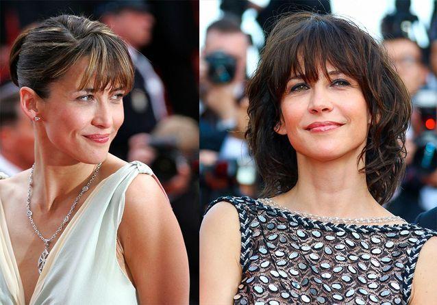 Les plus belles coiffures de Sophie Marceau à Cannes