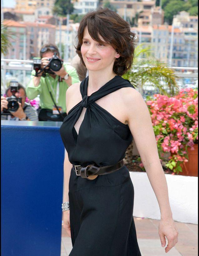 Juliette Binoche à Cannes en 2007