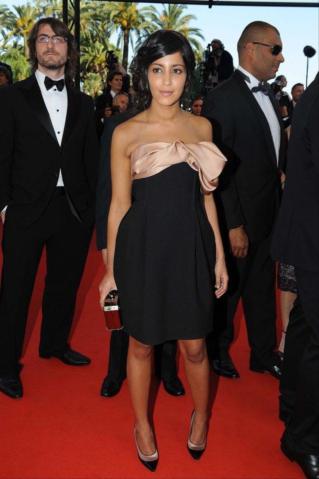 Leïla Bekhti à Cannes en 2009