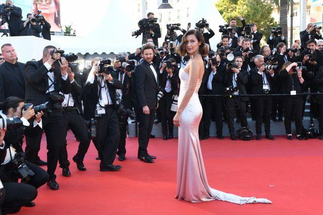 Bella Hadid en Alexandre Vauthier