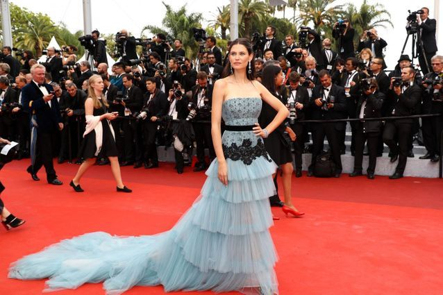 Robe Cannes Bianca Balti