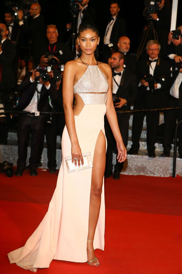 Robe Cannes Chanel Iman