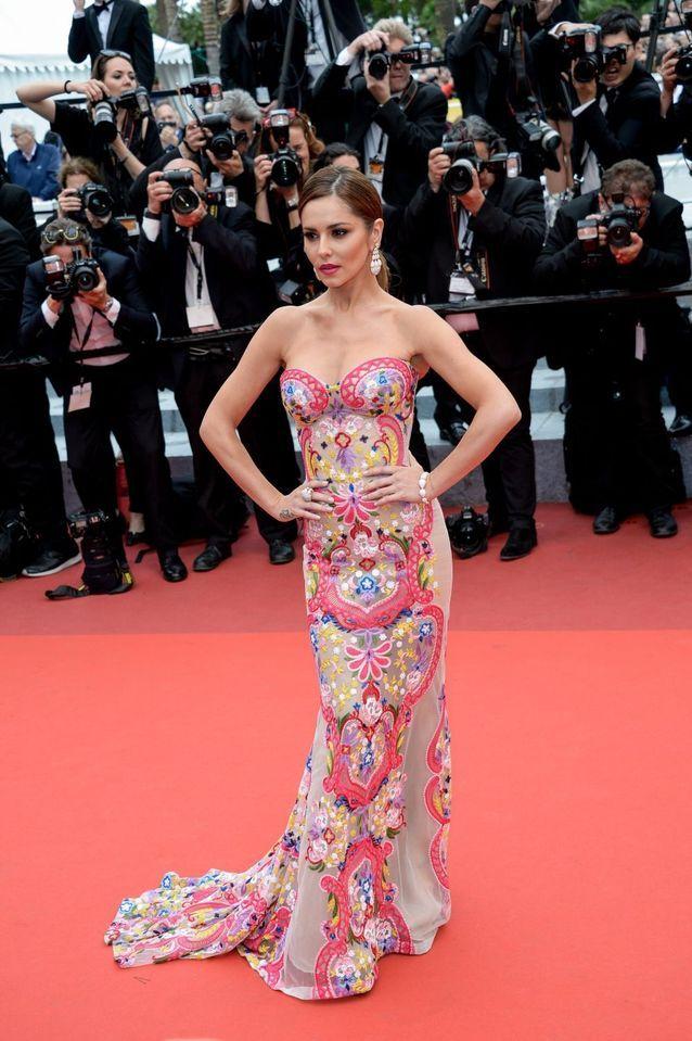 Robe Cannes Cheryl Fernandez-Versini