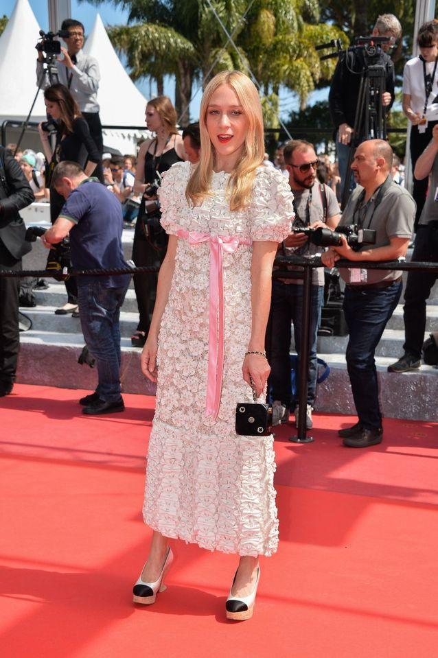 Robe Cannes Chloë Sevigny