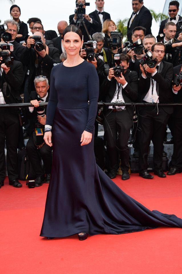 Robe Cannes Juliette Binoche