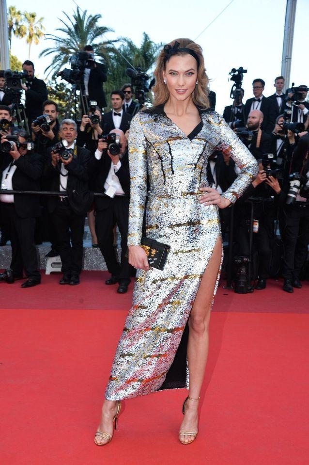 Robe Cannes Karlie Kloss