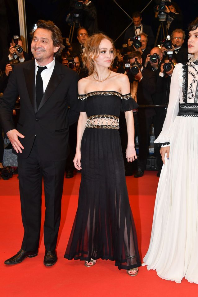 Robe Cannes Lily-Rose Depp
