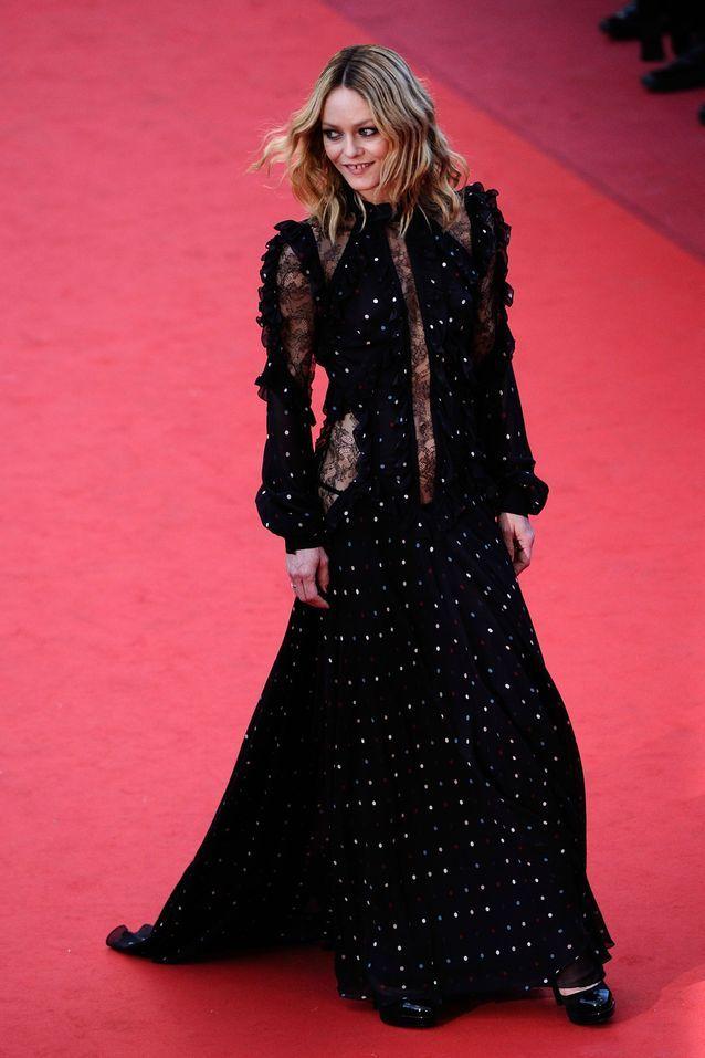 Robe Cannes Vanessa Paradis