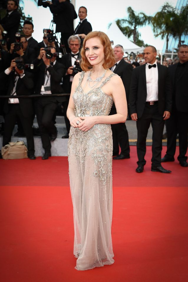 Robes Cannes Jessica Chastain