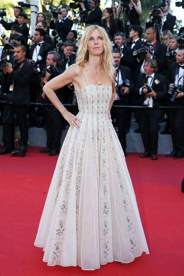 Sandrine Kiberlain en Dior