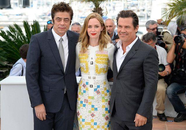Cannes 2015 : Emily Blunt, Benicio Del Toro et Josh Brolin, le trio de « Sicario »
