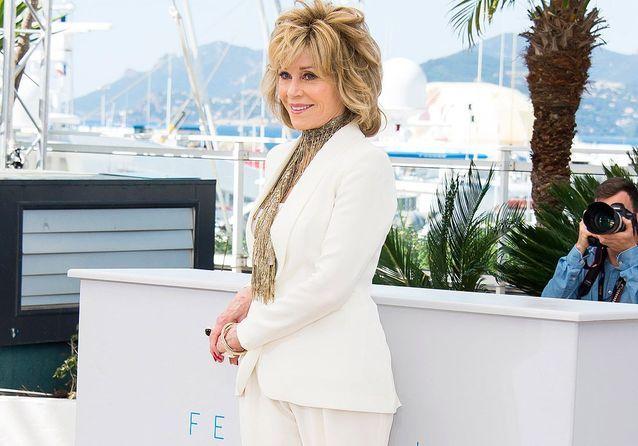 Cannes 2015 : Jane Fonda, sublime pour la projection de «  Youth »