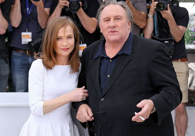 Cannes 2015 : Gérard Depardieu et Isabelle Huppert sur la Croisette pour « The valley of love »