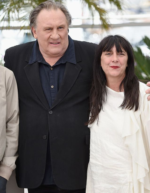 Gérard Depardieu et Sylvie Pialat, pour « The valley of love »