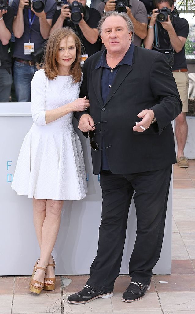 Isabelle Huppert et Gérard Depardieu, pour « The Valley of Love »