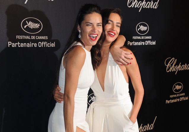 Cannes 2015 : Uma Thurman, Irina Shayk et Adriana Lima font la fête à la soirée Chopard