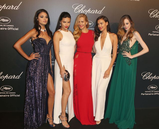 Daniela Braga, Adriana Lima, Petra Nemcova, Irina Shayk et Thairine Garcia