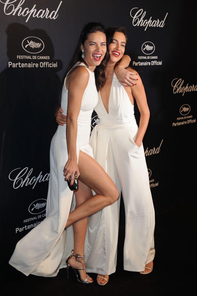Irina Shayk et Adriana Lima