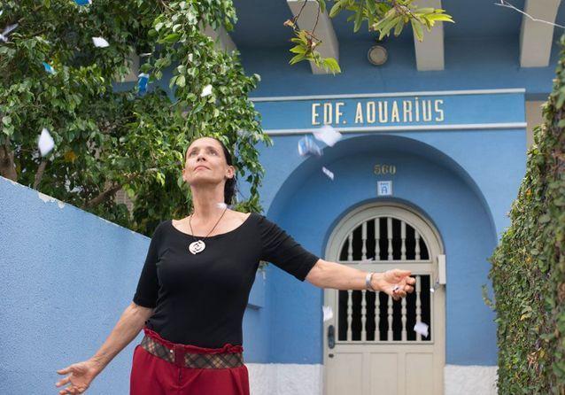 Sonia Braga dans « Aquarius », de Kleber Mendonça Filho