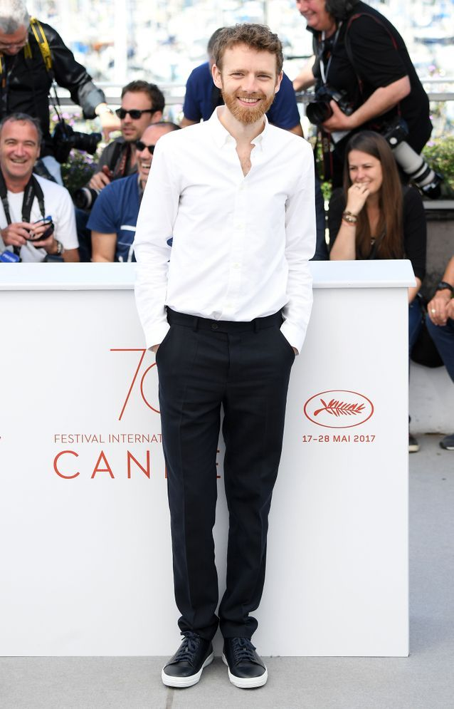 """Antoine Reinartz présente le film """"120 Battements par minute"""" à Cannes"""