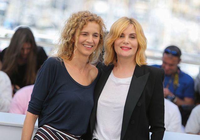 Delphine de Vigan et Emmanuelle Seigner