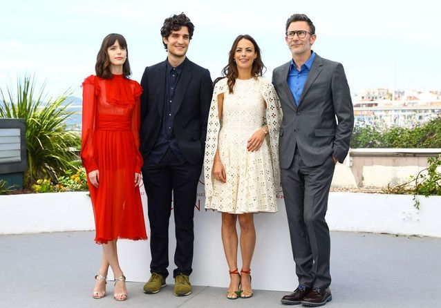 """Cannes 2017 : Louis Garrel """"Redoutable"""" face à Bérénice Bejo"""