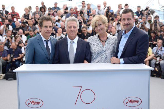 "Ben Stiller, Dustin Hoffmann, Emma Thomson et Adam Sandler présentent ""The Meyerowitz"""