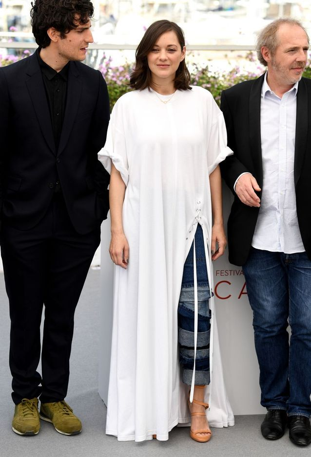 Louis Garrel, Marion Cotillard (en Y/PROJECT) et Arnaud Desplechin