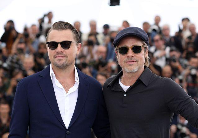 Cannes 2019 : Brad Pitt et Leonardo DiCaprio posent sur la Croisette