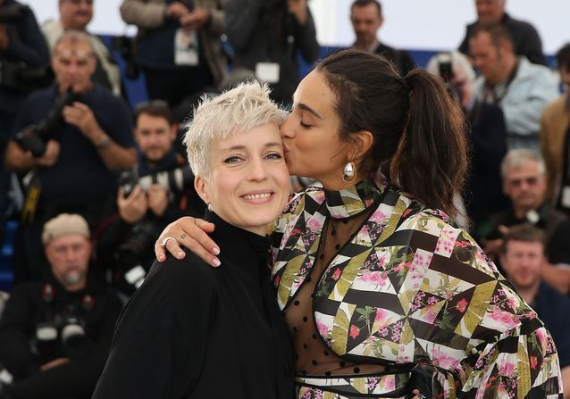 Cannes 2019 : Camélia Jordana et Jeanne Added complices sur la Croisette