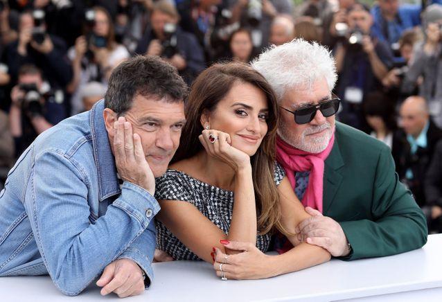 Antonio Banderas, Penélope Cruz et Pedro Almodovar
