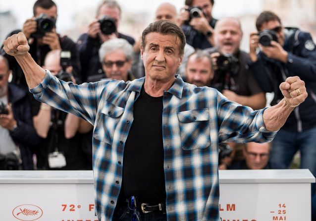 Image result for stallone cannes 2019