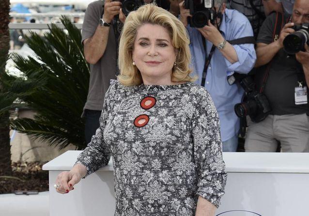 Cannes 2015 : Catherine Deneuve inaugure le Festival de Cannes pour la projection de « La tête haute »