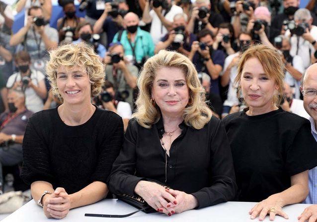 Cécile de France, Catherine Deneuve et Emmanuelle Bercot