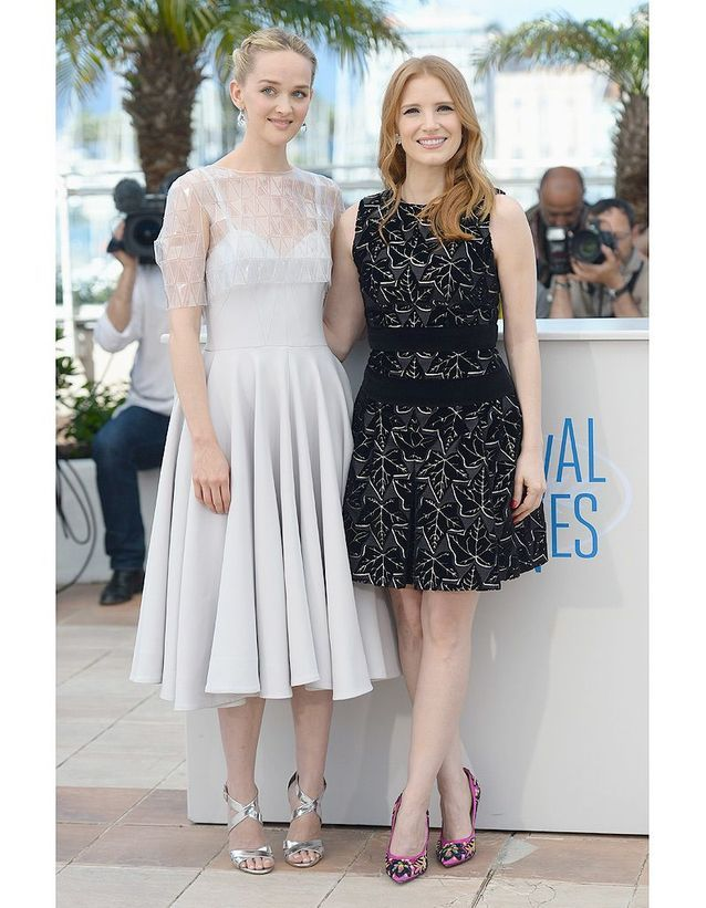 Jessica Chastain et Jess Weixler