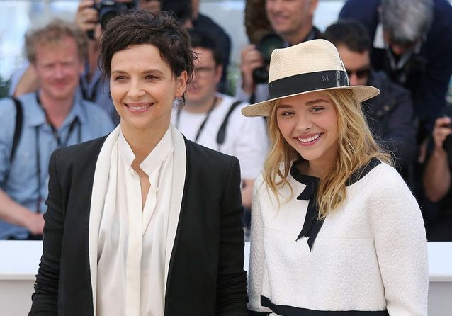 Juliette Binoche et Chloë Grace Moretz posent pour «Sils Maria»