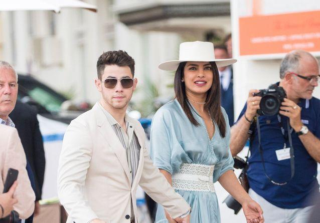 Nick Jonas et Priyanka Chopra : jeunes mariés bohèmes et stylés à Cannes
