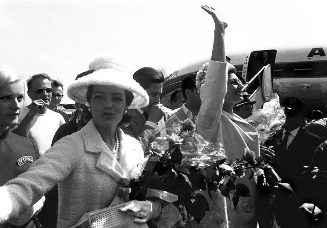 Romy Schneider, Alain Delon et Sophia Loren