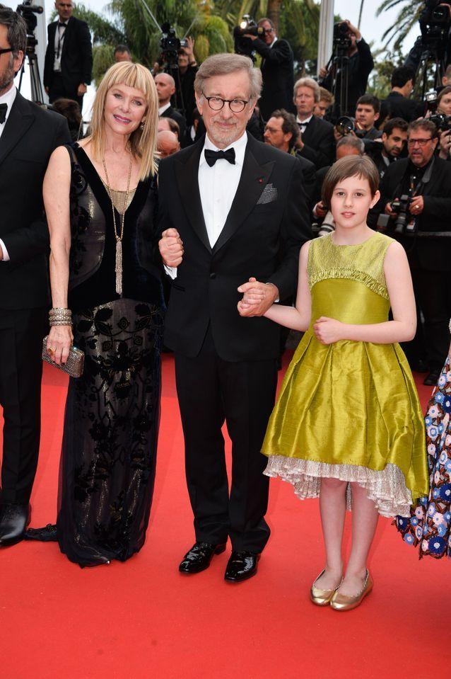 Kate Capshaw, Steven Spielberg et Ruby Barnhill