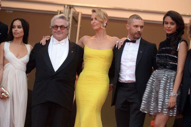 Zoe Kravitz, George Miller, Charlize Theron et Tom Hardy