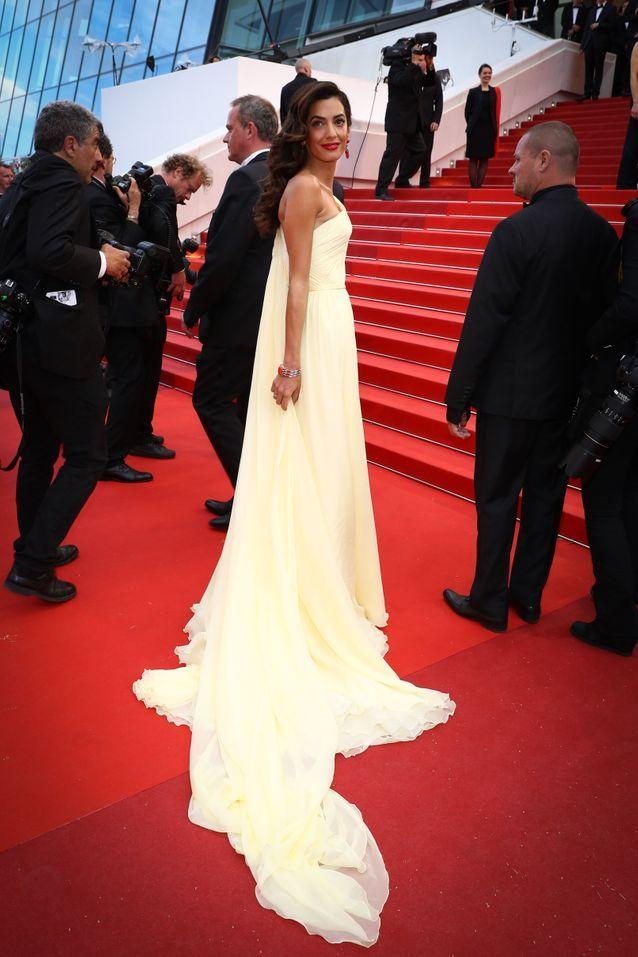 Amal Clooney en Versace