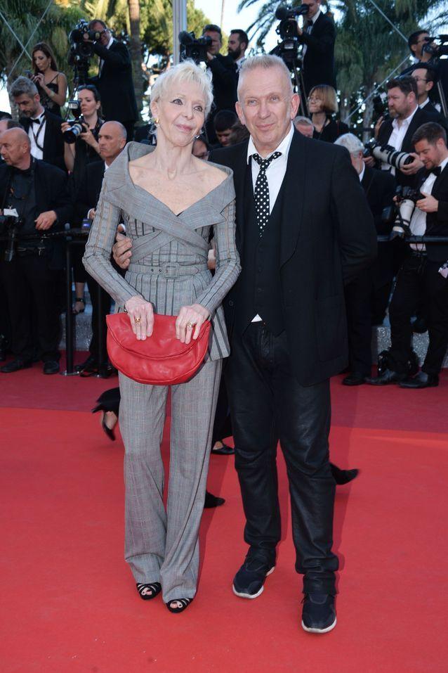 Toni Marshall et Jean-Paul Gaultier