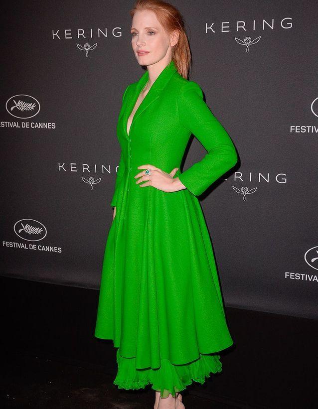 Jessica Chastain en Dior