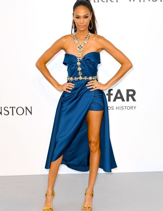 Joan Smalls en Elie Saab Haute Couture