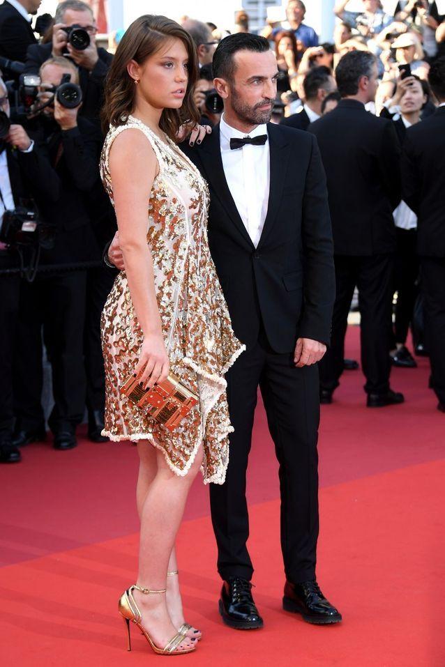 Adèle Exarchopoulos et Nicolas Ghesquiere