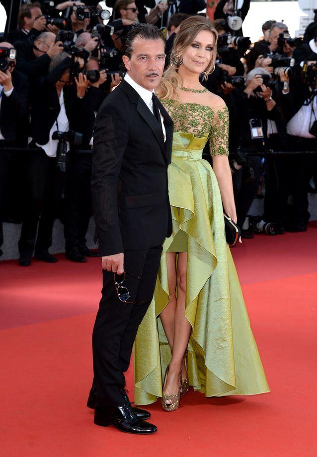Antonio Banderas et sa femme