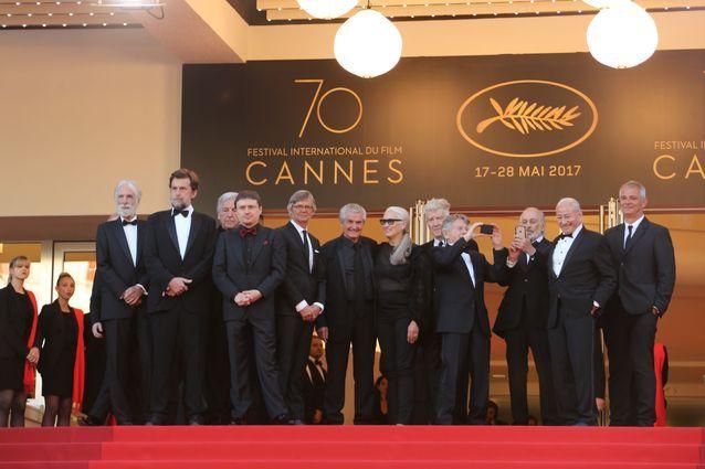 Quelques uns des réalisateurs ayant reçu une Palme d'or