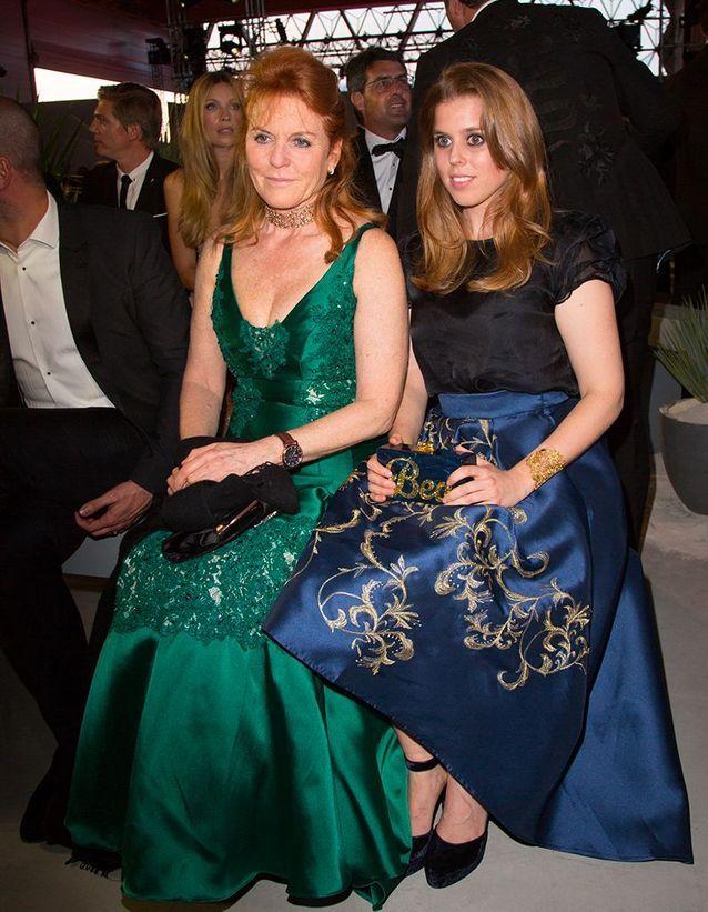 Sarah Ferguson et la princesse Eugenie
