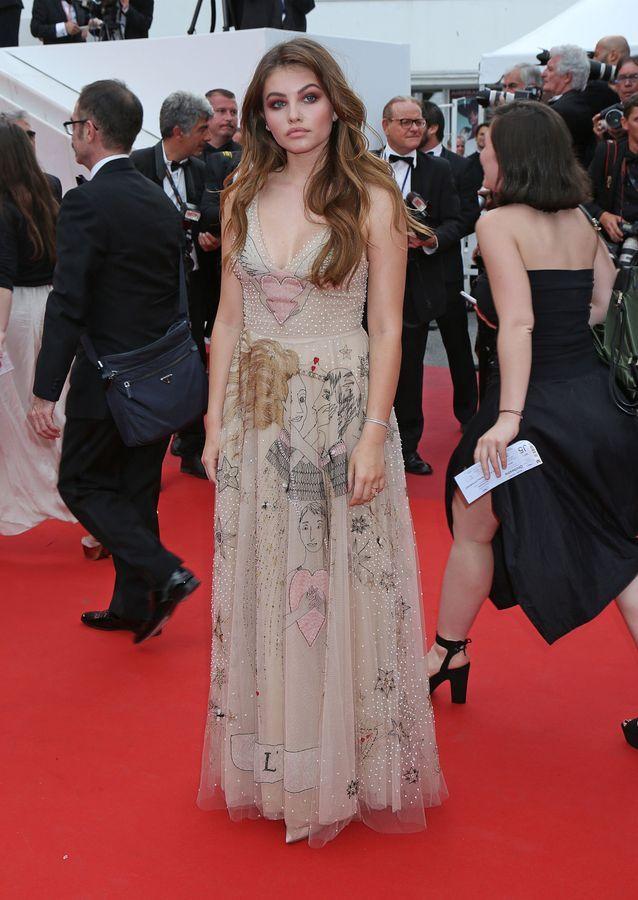 Thylane Blondeau en Dior (Bijoux Messika)