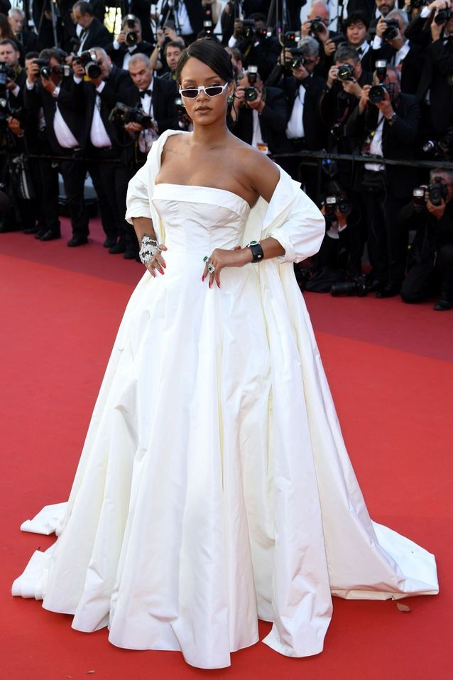 Rihanna en Dior (Bijoux Chopard)